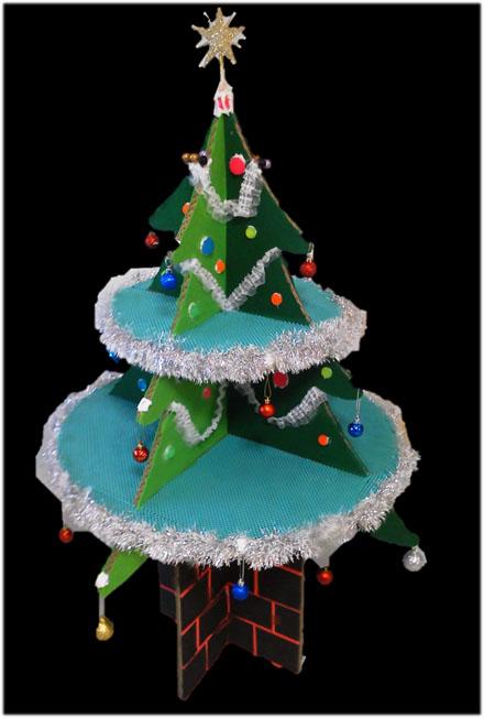 「ツリー・ツリー」お客様組立装飾例