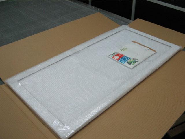 カラーダンボール家具テーブルの製作事例:梱包方法