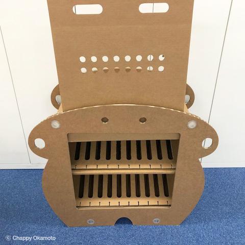 ダンボール製タブレットPC保管庫Dundee20台収納