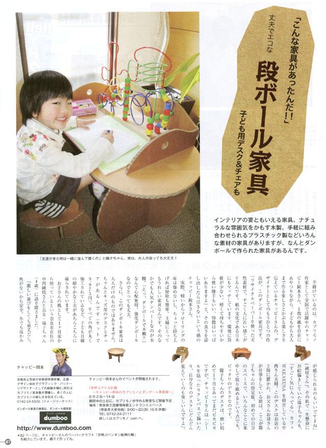 雑誌「はっぴーママ」掲載分